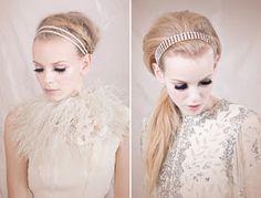 Raina Dawn Events  Newport Wedding Planner   Newport RI Wedding Planning   NY & DC Planner: The Look: Bridal Hair Accessories