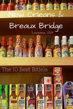 My Ten Best Bits of New Orleans & Breaux Bridge. Travel in North America.