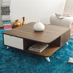 Nova Wooden Coffee Table, Walnut