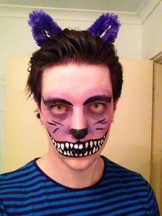Cheshire Cat makeup face paint