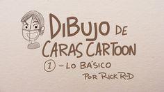 Aprende a dibujar rostros estilo toon usando formas básicas como círculos y óvalos. Sigue mis dibujos y personajes en mi blog: http://www.rickr-d.com/ En Fac...