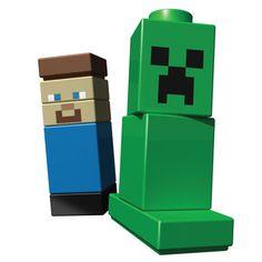Minecraft LEGO - 5/5 - Tamaño original