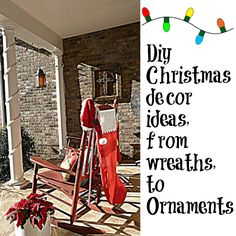 #Christmas  decorating ideas,  #crafts  and more that won't break your  #budget .