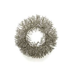 Glitter Wreath from Crate and Barrel.
