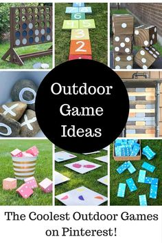 As our kids are getting older, they are especially fond of a good competitive activity for entertainment. I found so many great DIY outdoor game ideas that you can make to enjoy in your own backyard.