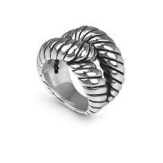 Slipknot Ring - Cloelle Designs Slipknot, Sterling Silver Jewelry, Rings For Men, Design, Men Rings, Design Comics