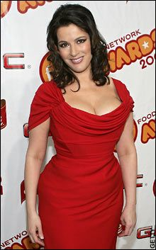 Nigella Lawson, I've watched her since I was little