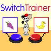 SwitchTrainer er en app der kan bruges til rigtig mange opgaver indenfor brugen af kontakter. Den kan indstilles i det uendelige og understøtter brugen af touch, enkeltkontakt og 2 kontakter. En rigtig god kontakttræningsapp!
