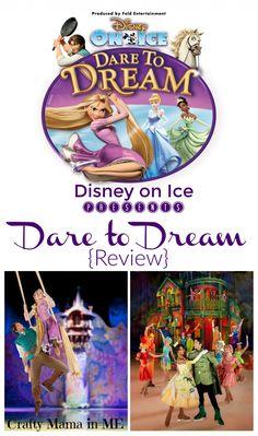 Disney on Ice presents Dare to Dream {Ticket Giveaway} - Crafty Mama in ME! Disney On Ice, Disney Dream, Disney Magic, Art For Kids, Crafts For Kids, Travel Snacks, Summer Travel, Dares, Family Travel