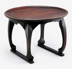 개다리 소반(狗足盤), Korea, Choson Dynasty, 16th century Art Furniture, Furniture Design, Korean Crafts, Coffe Table, Korean Traditional, Architecture Old, Traditional Furniture, Cafe Design, Chinese Style