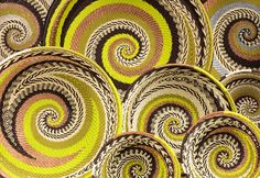 ...Botswana is known for its handwoven baskets, many of which are produced in the northern district of Ngamiland.