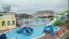 Aquapark pri hoteli Imperial, Primorsko, Bulharsko