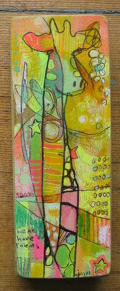 Angela Anderson Art Blog: Freestyle Giraffes - Kid's Art Class