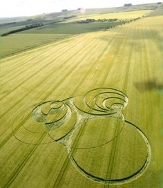 Crop circle in Marlborough Downs