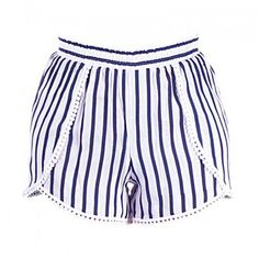 Welcome to Blε - Ble Resort Collection Beach Accessories, Boho Shorts, Trousers, Blue And White, Stripes, Summer, Clothes, Shopping, Collection