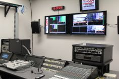 WinCAM's control room used for our studio shoots as well as live shoots...pretty awesome!