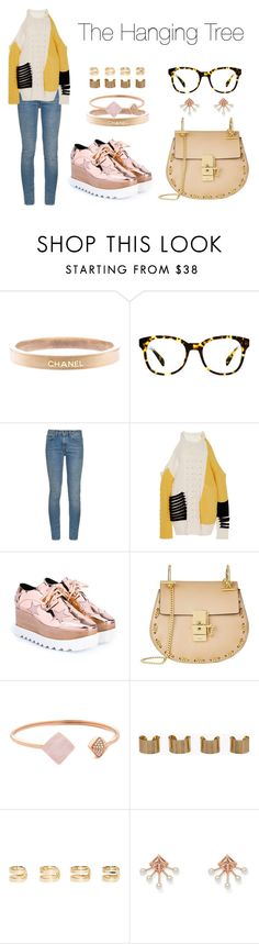 """""""The Hanging Tree"""" by anaelle2 ❤ liked on Polyvore featuring Chanel, Warby Parker, Yves Saint Laurent, Prabal Gurung, STELLA McCARTNEY, Chloé, Michael Kors, Maison Margiela, Rebecca Minkoff and women's clothing"""