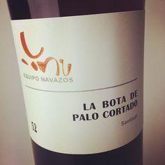 single vineyard, single vintage, young, seaside Palo Cortado - the newest La Bota release from Bodegas La Guita #sherry #jerez #xeres