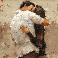 """evanot: """"Andre Kohn - The Kiss """""""