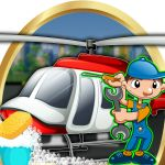 Helicopter Repair & Wash Game 1.0 APK Maker Game, Game 1, Cleaning Games, Money Games, Crazy Kids, Toddler Learning, New Kids, Little Babies