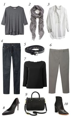 the basics. everyone should have their own--it's how you develop your style or look.