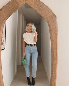 Chic Outfits, Trendy Outfits, Fashion Outfits, Womens Fashion, Spring Summer Fashion, Spring Outfits, Laura Jade Stone, Look Jean, Inspiration Mode