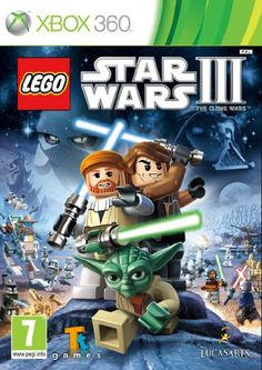 Top 50 Xbox 360 Games 2013. Lego Star Wars III: The Clone Wars is an Action-Adventure game that builds on the long recognised family-friendly fun and quality gameplay that is the hallmark of the Lego video game franchise. The game features fan favorite scenes from Star Wars: The Clone Wars and seasons 1 and 2 of the hit animated TV series, all retold using the easy to pick up and block oriented Lego video game play mechanics. Only £16.49