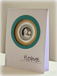 Addicted to Stamps and More! Welcome Home Cards, New Home Cards, Card Making Inspiration, Making Ideas, Housewarming Card, Housewarming Invitations, Wedding Shower Cards, Making Greeting Cards, Beautiful Handmade Cards