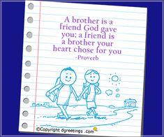 Birthday Message for Brother - Say happy birthday brother with happy birthday message for brother with funny and best bday sms for younger, little and elder brother. Funny Brother Birthday Cards, Birthday Message For Brother, Happy Birthday Messages, Brother N Sister Quotes, Brother And Sister Relationship, Brother Humor, Sibling Quotes, Quotes About Strength And Love, Life Words