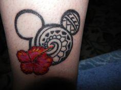 Disney Tattoo. Mickey Mouse tribal tattoo. Art work by Diablo Tattoo's.