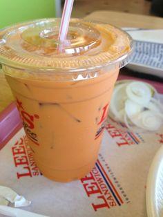 Great Thai iced tea!