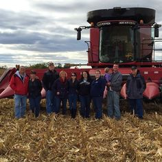 Corn, Beans, Pigs and Kids: First-Time Combine Rides for #FranklinCoHarvest Bloggers