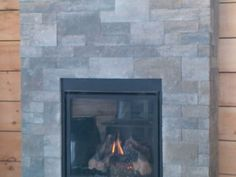 the easiest way to update your fireplace- thin veneer