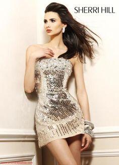 Sherri Hill Short 2771 at Prom Dress Shop
