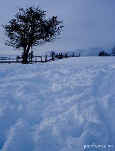 Atardeciendo tras jugar en la nieve | Flickr: Intercambio de fotos