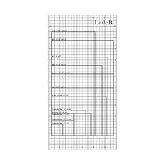 Little B - Perfect Positioner - 6 x 12 Adhesive Placement Guide at Scrapbook.com $4