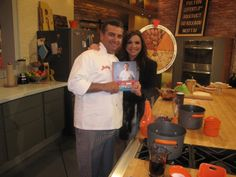 Buddy and Rachael Ray with his new book Family Celebrations with the Cake Boss!
