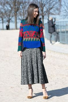 Pin for Later: The Best Street Style Snaps From Paris Fashion Week PFW Day Three Natasha Goldenberg