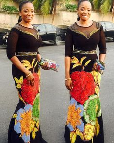 Ankara has lots of unlimited styles that are worth styling and flaunting! African styles are inarguably one of the most beautiful pieces of clothing available. From the intricate designs and… African Print Fashion, Africa Fashion, African Fashion Dresses, African Prints, African Attire, African Wear, African Women, Ankara Long Gown Styles, Ankara Styles