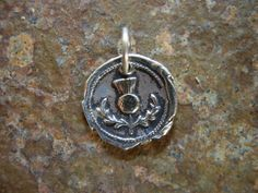 Thistle Wax Seal Charm