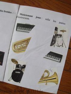 Une activité simple en éveil musical : créer votre propre livre en y incluant…