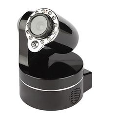 1280*720 H.264 Wireless PTZ IP Camera with 3X Optical Zoom, IR Cut and Two-way Audio