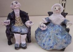 Mary and George  Washington - Overbeck