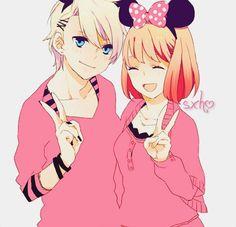 I think...no I KNOW I like Mickey Mouse more than Minnie Mouse