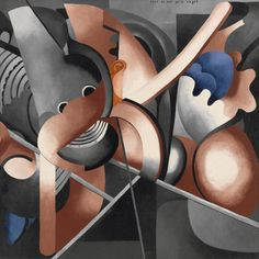 Francis Picabia / This Has to Do with Me / c. June-July 1914 / oil on canvas / MoMa Magritte, Statues, Hans Richter, Hans Arp, Moma Collection, Francis Picabia, Max Ernst, Miro, Action Painting