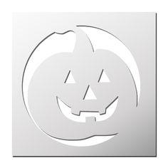 Pochoir Halloween Citrouille