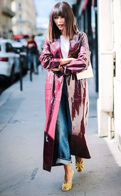 The perfect trench from Paris Fashion Week via @WhoWhatWearUK