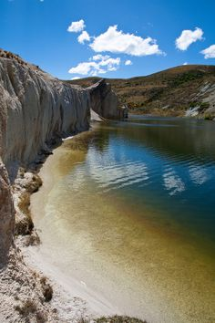 Blue Lake, St Bathans, Central Otago, New Zealand, Oct 2012 (by Célia Mendes Photography)