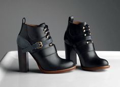 Chloé Fall Winter 2013 Collection #womensfashion #nattygal #boots #chloe