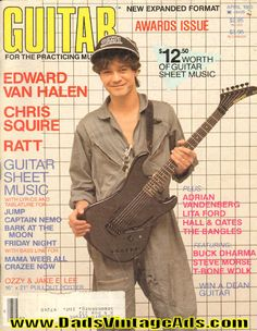 1985 April Guitar For The Practicing Musician Magazine Back-Issue